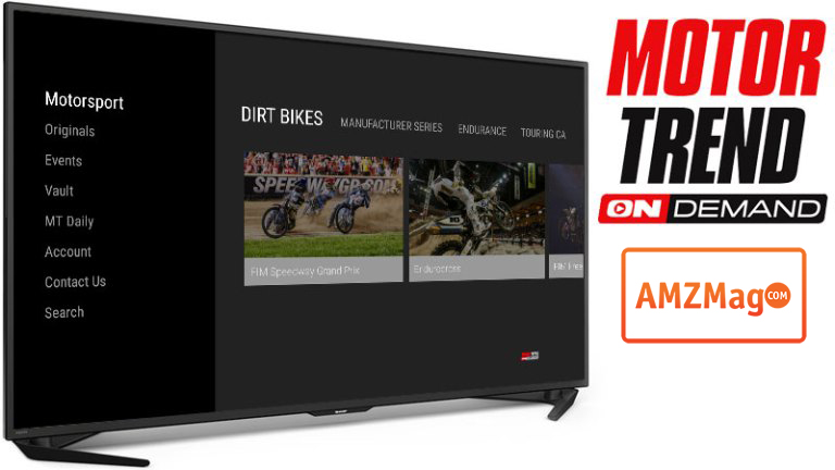 Motor trend ondemand new app for the amazon fire tv for New deal online motor trend